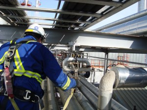 Piperack Fall Protection